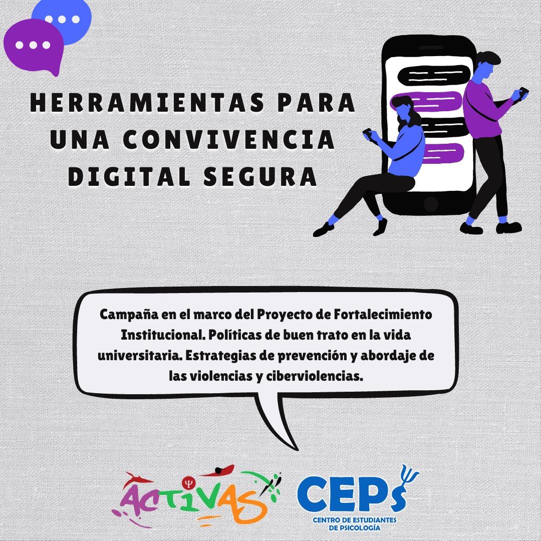 Herramientas para una convivencia digital segura